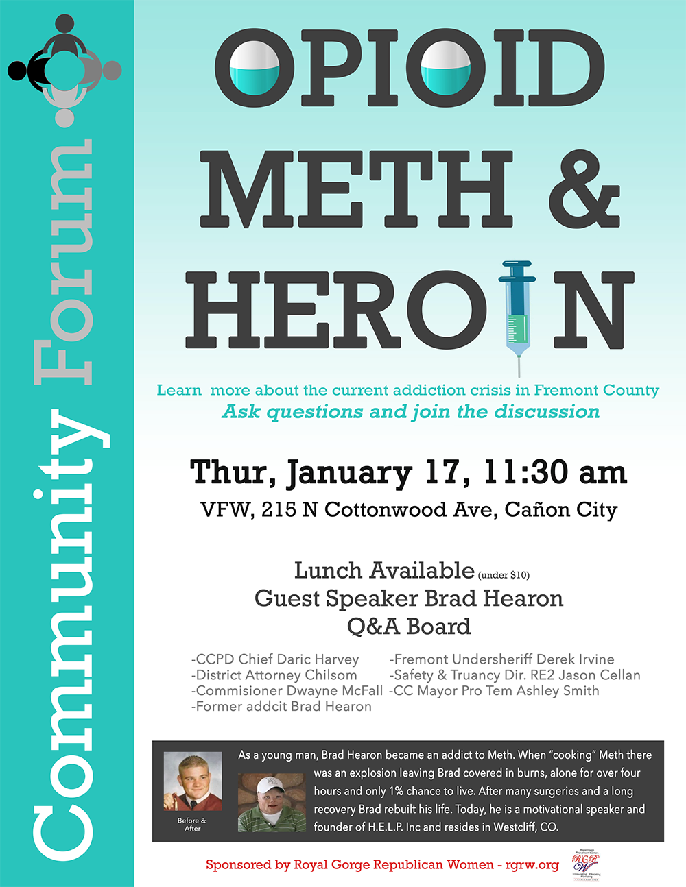 Opioid Meth and Heroin Community Forum